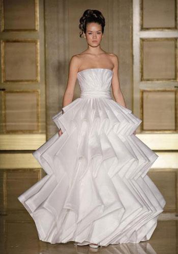 2013春夏6种风格创意婚纱图片