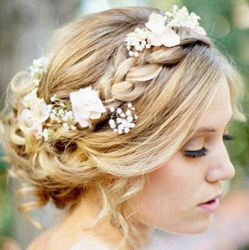 新娘花环头饰