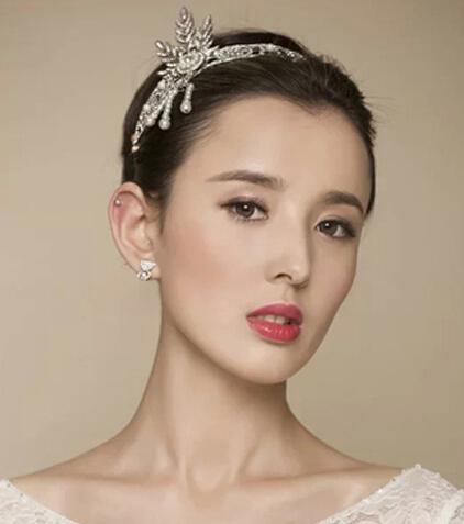 韩式新娘气质发型 打造纯南京韩式婚纱照