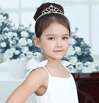 南京婚纱摄影推荐6款精致可爱的小花童发型