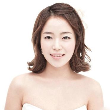 齐肩发新娘如何打造南京婚纱照发型