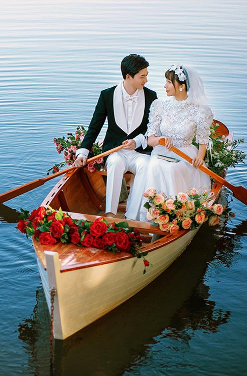 玫瑰湾的小船